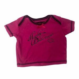 Infant girls 3-6 mo. Harley Davidson T-shirt